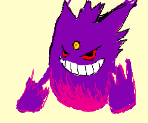 form gengar normal type