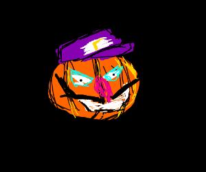 Pumpkin Waluigi