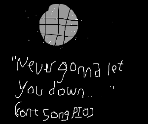 Never gonna give you up...(Cont song PIO)