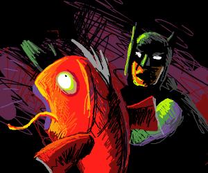 Batman slaps magikarp
