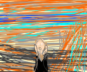 the scream (painting) Painting
