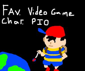 Fav. Video Game Character PIO (Today: Layton)