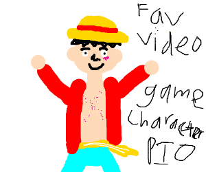 Your favorite video game character, pass it on