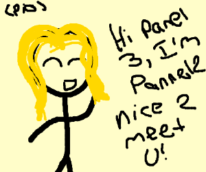 Hi there, I'm pannel one! Nice to meet you!
