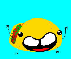 Bucktooth Taco cheers for you!