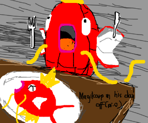 Magikarp on his day off (PIO)