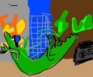 sprinkle crocodile