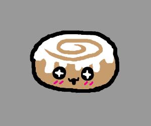 innocent cinnamon bun too good for this world