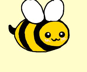 Adorable bumblebee