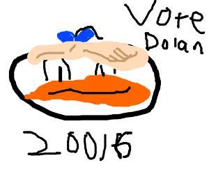 Dolan Trump runs for prezz 20016