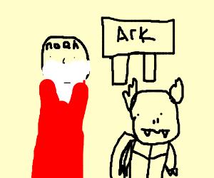 noahs ark with pokemon
