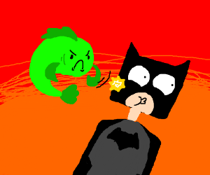 Fish gets revenge and slaps Batman