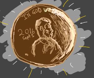 Shiny new penny
