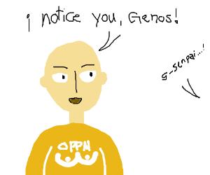 Saitama has noticed