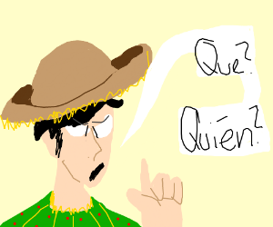 Spanish words - Drawception