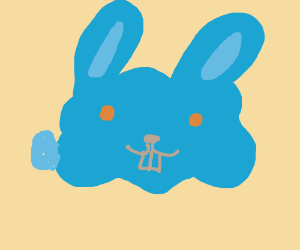 blue rabbit blob