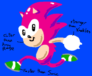 Bad Sonic Ocs Drawing By Deleted Drawception
