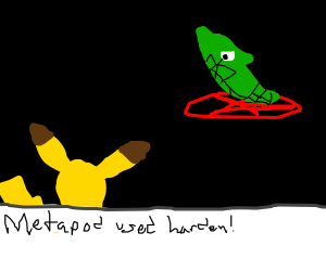 Metapod uses a pentagram to get harder