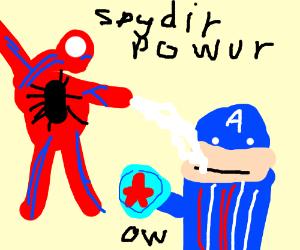 Spooderman reks capun merica