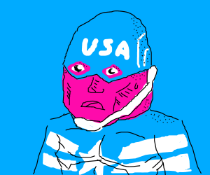 The United States of America Captain feels hot