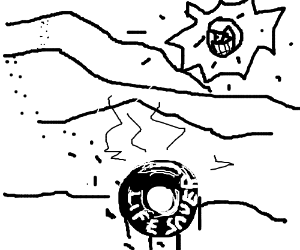 It never ends well for a lifesaver in a desert