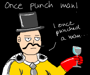 I once punched man