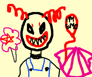 Devil clown