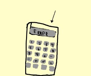 my calculator doesn't work help