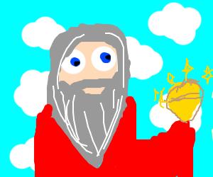 god busts gold nut