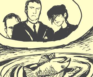 Fish Flushing Funeral