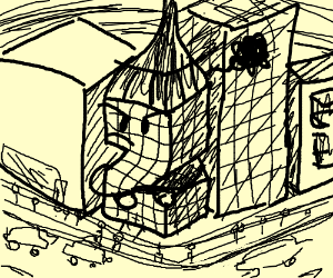 """""""Z"""" shaped building is very salty"""