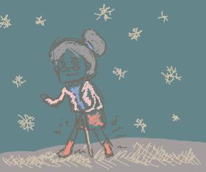 granny on ice