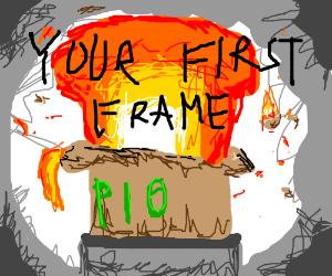 Your frame (no.1 ) PIO