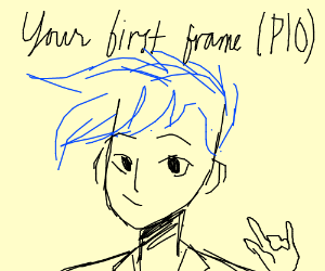 Your first frame PIO