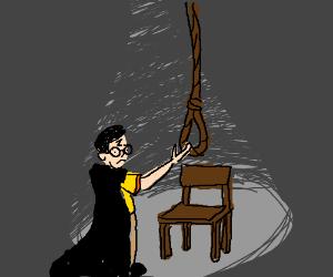Suicidal Harry Potter