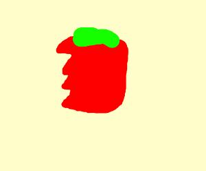 Bitten tomato