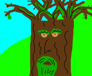 Ent from lord of the rings