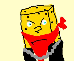 gangster spongebob drawception