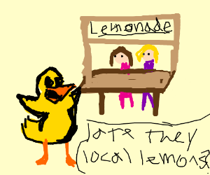 A duck walked up to the lemonade stand (cont.)