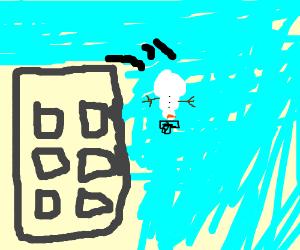 Snowman's suicide