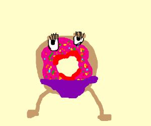 donut hole with a bikini