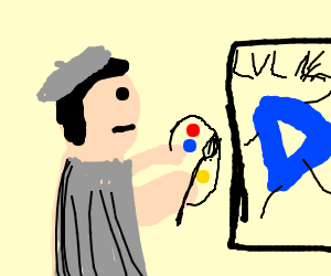 Almost at Level 15 on Drawception