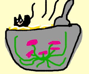 Batman spa soup