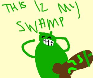 some memey shrek thing