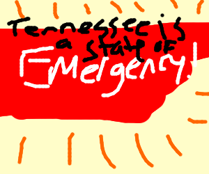 Tennessee is in a state of emergency