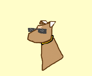 Scar, but as a dog.