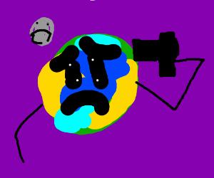 Earth killing itself