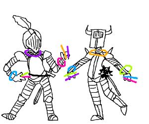 Medieval rave