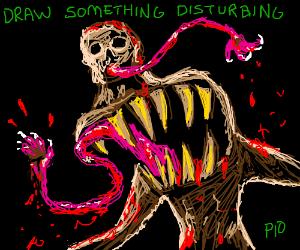 Draw something disturbing PIO