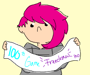 100th Game Freedraw PIO